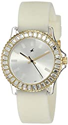Fastrack Hip Hop Analog White Dial Women's Watch NM9827PP01 / NL9827PP01,Fastrack,NL9827PP01
