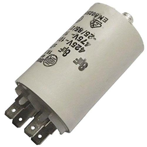 Condensateur 8MF 450V Sèche-linge AS0030666 VEDETTE