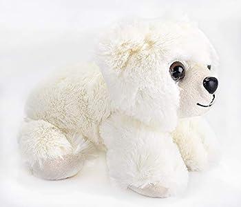 Wild Republic Hug'ems Plush, Polar Bear Baby Cuddly Soft Toy, 18 cm Oso Peluche para bebé, Color (16246)