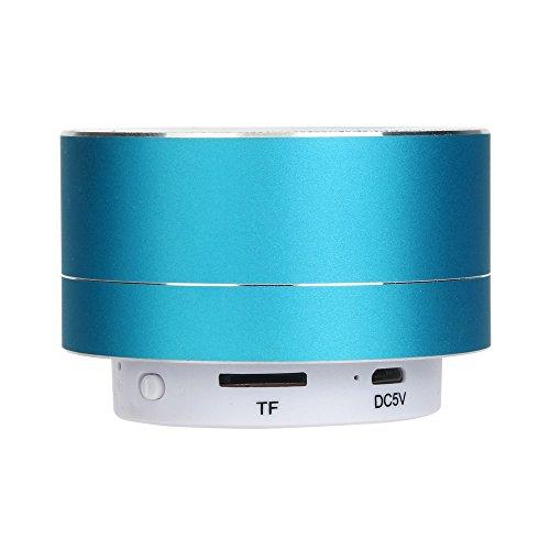 OPAKY - Altavoz inalámbrico con Bluetooth para iPhone, Samsung, etc. Azul
