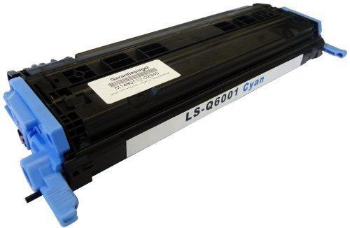 Bubprint Toner kompatibel für HP Q6001A 124A für Color Laserjet 1600 2600 2600N 2605 2605DN 2605DTN CM1000 CM1015 CM1017 MFP CP2600 2500 Seiten Cyan