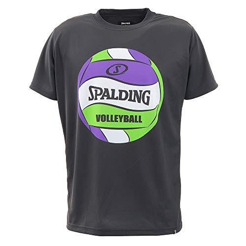 バレーボール Tシャツ ボールプリント SMT200740 ブラック Mサイズ バレー