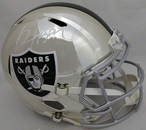 Bo Jackson Oakland Raiders NFL Hand Signed Full Size Replica Helmet