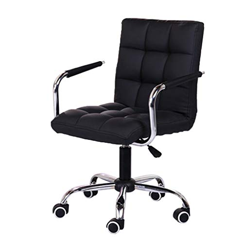 Best Review Of N/P Home Office Desk Chairs Adjustable Height Office Computer Chair with Handle Wheel...