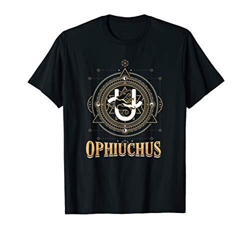 13.Sternzeichen Schlangenträger Tierkreis Ophiuchus Geschenk T-Shirt