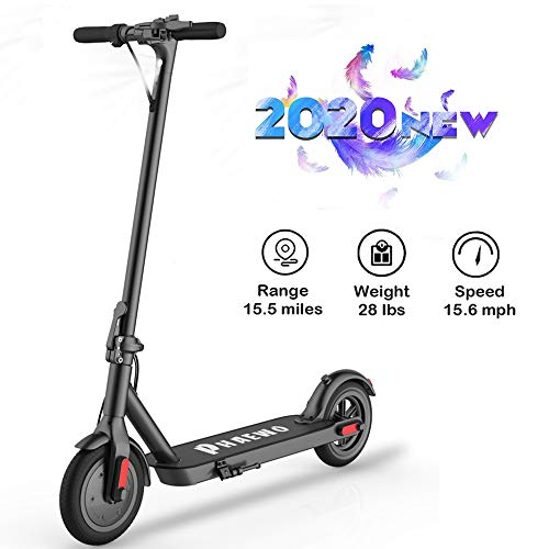 Electric Scooter Adults,8.5 Inch Solid Tire,Up to 16 MPH, Portable Folding Design,Max Load 264 lbs,One-Step Fold Kick E-Scooter,Disc Dual Brake,LCD Display,Ultra-Lightweight, Convenient Fast Commuting