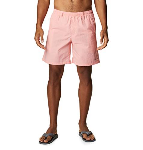 Columbia Backcast III - Pantalones Cortos de Agua para Hombre, Hombre, Backcast III - Pantalón Corto de Agua, 153578, Fucsia, 6X Big x 8