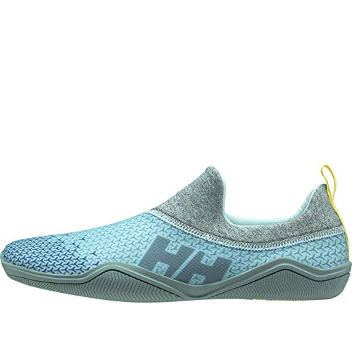 Helly Hansen W Hurricane Slip-on, Zapatillas Impermeables Mujer, Azul (Glacier Blue/Dark Teal 648), 37.5 EU