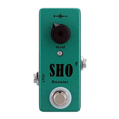 Mosky SHO BOOSTER Electric Guitar Effect Pedal with Clean Boost True Bypass