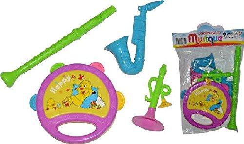 Sandy - Set 4 Instruments de Musique Enfants