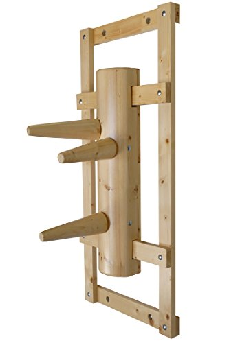 Wing Chun Wooden Dummy with bow natural color