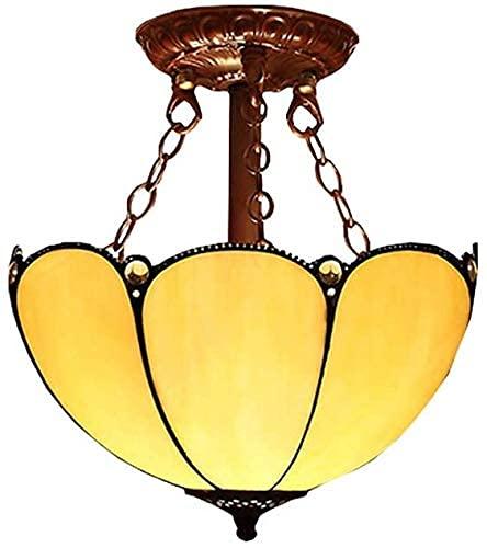 Lampada da soffitto, luce da bagno Plafoniera, pendente in vetro colorato luce moderna minimalista camera da letto a soffitto da camera da letto tiffany stile luce soffitto apparecchio da soffitto da