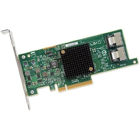 LSIロジック LSI00301 / PCIEx8(3.0) SATA/SAS6Gb/s 内部8ポートHBA LSI SAS 9207-8i SGL