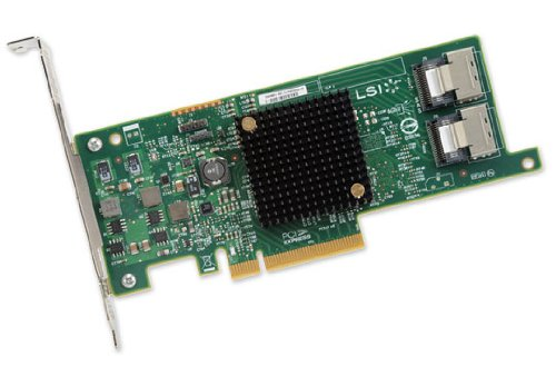 LSI Logic LSI00301 Host Bus Adapter (SGL 8-Port, PCIe 3.0, SAS 2.1)