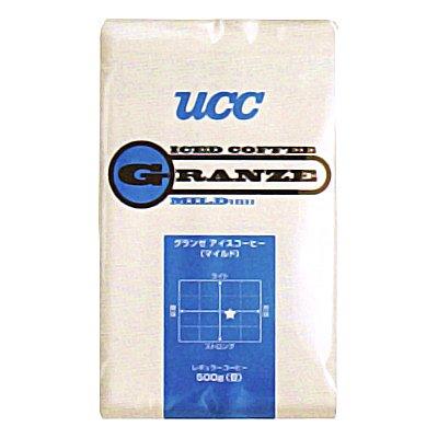 UCC 業務用 グランゼ マイルドアイスコーヒー(豆)AP 500g×12個