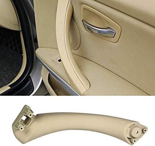 znwiem - Manija Interior para Puerta de Coche para BMW Serie 3 E90 E91 316 318 320 325 328 330 I7T8, Beige Right, 31 * 12 * 7.5cm
