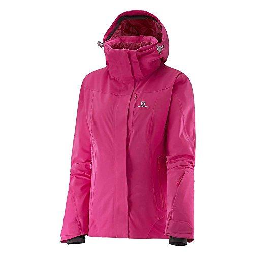 SALOMON Damen Icerocket Jacke, Yarrow Pink/Gaura Pink, S
