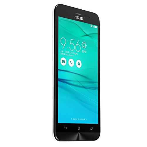 Asus ZenFone Go (ZB500KL) Dual-SIM Smartphone (5 Zoll (12,7cm) HD Touch-Display, 16 GB Speicher, Android 6.0) weiß