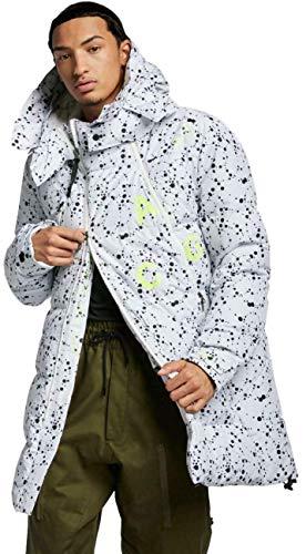 Nike Men's NikeLab ACG Down-Fill Parka Jacket Coat (AQ3517-100) (Large) White