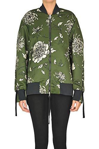 Luxury Fashion | Moncler Dames MCGLCSG0000A7006E Groen Polyester Outerwear Jassen | Seizoen Outlet