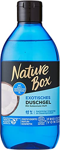 Nature Box Exotisches Duschgel mit Kokosnuss-Duft, 250 ml