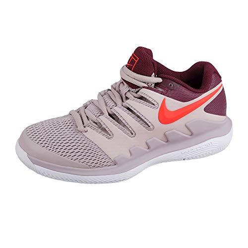 Nike Air Zoom Vapor X HC, Scarpe da Tennis Bambino, Multicolore (Particle Rose/Bright Crimson/Bordeaux 601), 37.5 EU