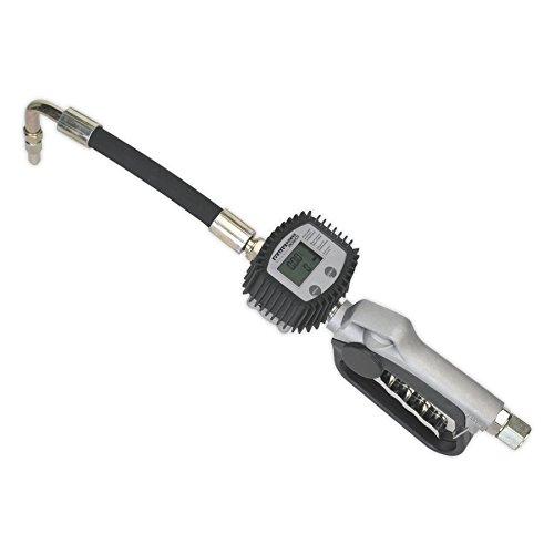 SEALEY ak4565d Öl Schlauch Ende Gun mit Digital Meter
