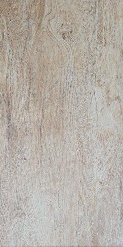 Die Holzoptik Bodenfliesen Teak grau matt im Großformat 30x60cm aus Feinsteinzeug eignen sich als Bodenfliesen und Wandfliesen und zaubern in jeden Raum ein modernes Ambiente zum Wohlfühlen (1m²)