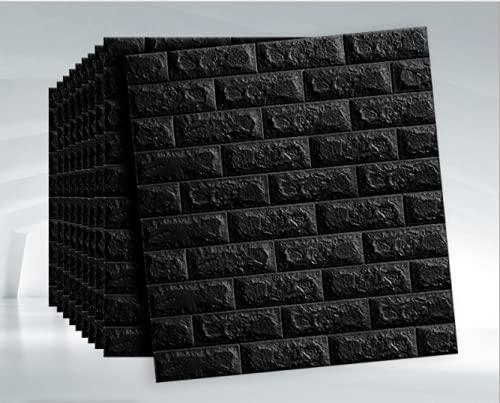 Azulejos de pared adhesivos adhesivos 3D impermeables y antiincrustantes en azulejos para baño, cocina, azulejos decorativos de pared, paquete de 5