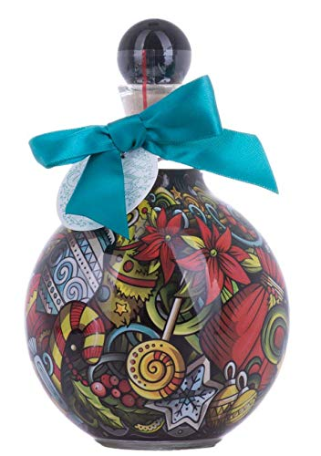 Chopin Vodka Christmas Bauble Turquoise Bow 40% - 500 ml
