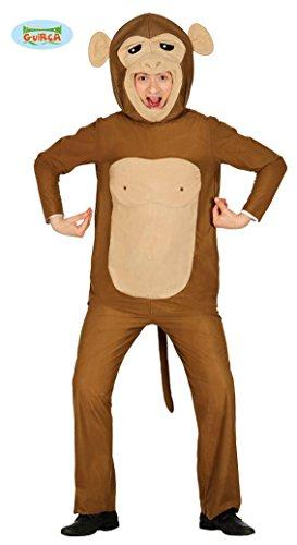 Fiestas Guirca Costume Scimmia Uomo Donna Taglia l
