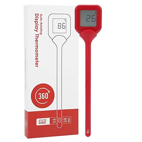 Schnelle Temperaturmessung Kochtemperaturen Lebensmittelthermometer für Milch für Picknick im Freien(red)