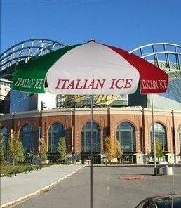 italian ice umbrella