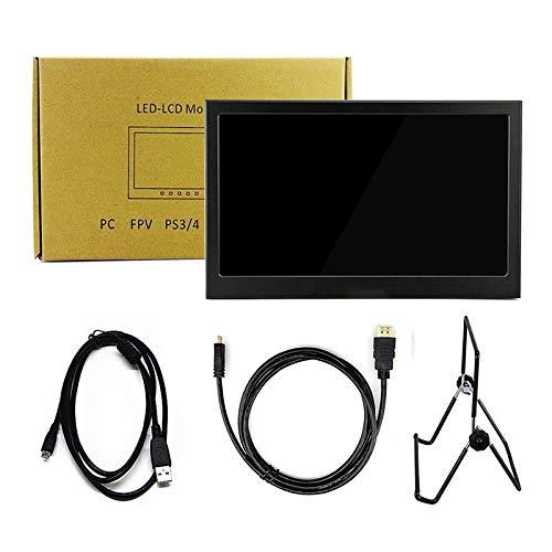 yaoni 10.1'Monitor portátil Pantalla táctil 2560 * 1600 Monitor de Juego LED LCD Pantalla de Ordenador con 10.1inch2KTouch