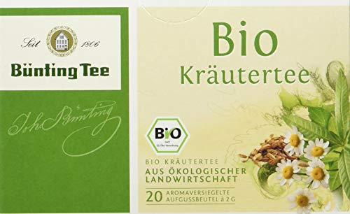 Bünting Tee Bio Kräuter 20 x 2g Beutel (1 x 40 g)