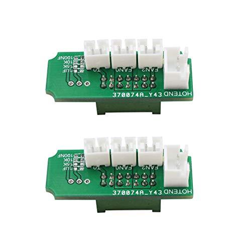 BCZAMD 3D-Druck Ersatzteil Extruder Transfer Adapter Plate Board Kompatibel mit Mega-i3 Mega-S 3D-Drucker-2St