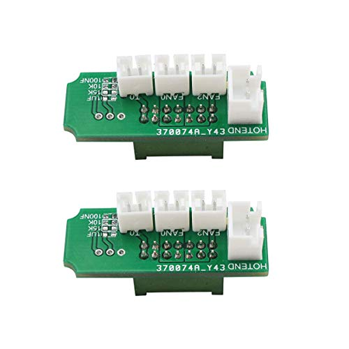 BCZAMD 3D Printing Extruder Transfer Adapter Plate Board Compatible with Mega-i3 Mega-S 3D Printer Pack of 2
