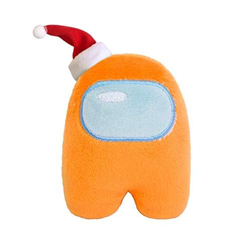 Gefüllte Tiere & Plüschtiere Plüschtiere Weiche Plüsch 10/20 cm Unterhalb süßes Spiel Spielzeug Puppe Plüschtier Cartoon Maskottchen Kreative Spielzeug (Farbe: hellblau Weihnachten, Größe: 10 cm), Grö