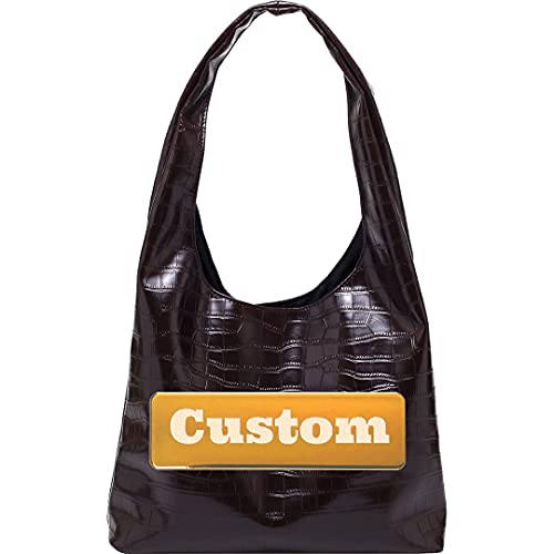 Nombre Personalizado Top Manija Crossbody para Mujer Sling Bolsa de Cuero Pequeño Satchel Cuero Messenger Mujeres (Color : Eyuwenkase, Size : One Size)