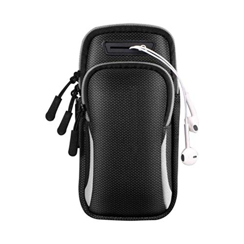 Bolsa de Brazo Deportivo Brazalete para Correr Soporte para teléfono Impermeable Cómodo Brazalete de Fitness para Ciclismo Yoga