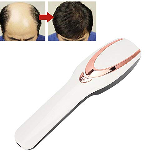 Pangding 2021 New Electric Massage Comb, Hair Growth Anti Hair Loss Cleared Thinning Vibration Health Hair Care Massager