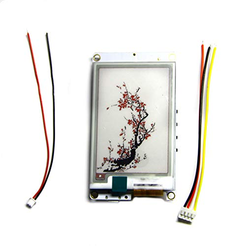 ICQUANZX T5S WiFi Bluetooth Módulo inalámbrico Base ESP-32 Pantalla Tricolor de 2.7...