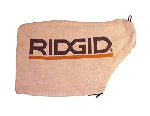"""Ridgid 089036008914 R4112 R4120 R4122 12"""" 10 polegadas bolsa de pó de substituição para serra de esquadria"""