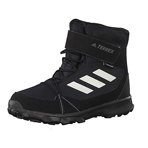 adidas Unisex-Erwachsene Terrex Snow Cf Cp Cw K S80885 Schneestiefel, Schwarz (Negbas/Blatiz/Gricua 000), 39 1/3 EU