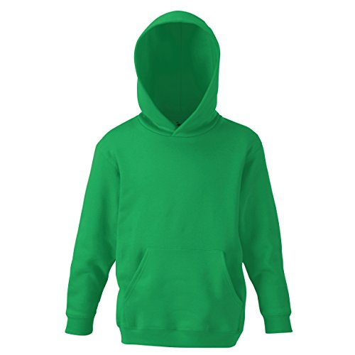 Fruit Of The Loom - Sudadera clásica 80/20 unisex para niños