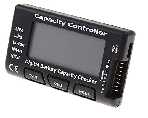 DollaTek RC CellMeter-7 Digitaler Batteriekapazitätsprüfer Controller-Tester für LiPo/Life/Li-Ion/NiMH/Nicd