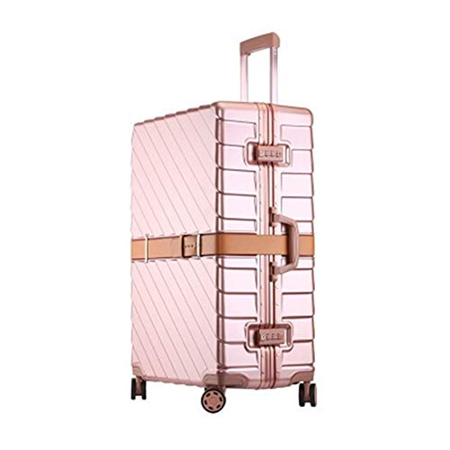 Find Discount Cvmnkljfger Lightweight Expandable Travel Luggage Carry On 20/24/29 inch Size PC Alumi...