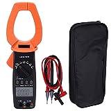 VC6052 pince ampèremétrique numérique portable LCD affichage pince ampèremètre ampèremètre AC 2000A ampèremètre multimètre avec sac de rangement pour sonde de Test