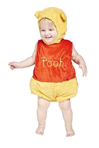 Disney Déguisement Winnie l'ourson pour bébé avec Chapeau Assorti