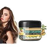 Ginger Cream for Hair Growth, Natural Hair Growth Ginger Cream, Basic Care Hair Regrowth Treatment, Ginger Hair Growth Serum Essence Oil, Hair Growth Serum for Hair Loss. (1PCS)
